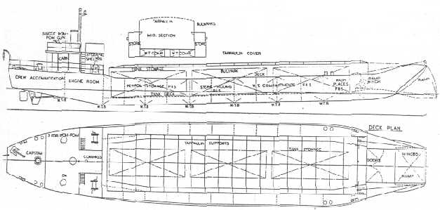 Diagram of a British Mark 1